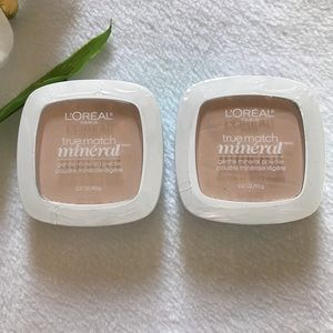 🆕 2 Pack Loreal SOFT IVORY Gentle Mineral Powder
